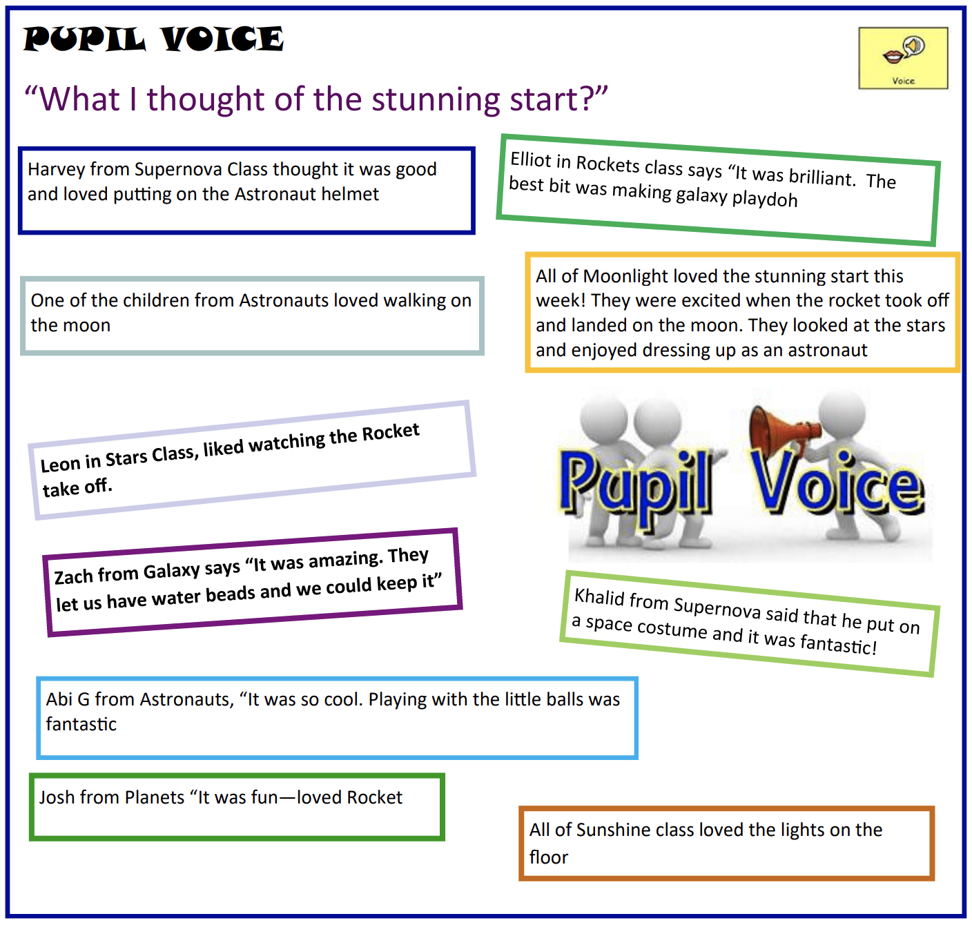 Pupil Voice - Herons Dale Primary School
